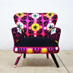 Suzani Armchair - 'August' by #namedesignstudio on Etsy ♥•♥•♥