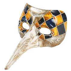 {Harlequin Nose Mask} Balocoloc Venetian Masks - traditional Venetian clown