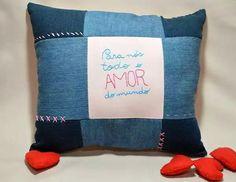 Almofada artesanal Dona Maricô