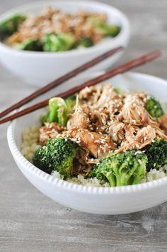 Fed & Fit » Chicken Teriyaki Bowl