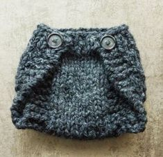 MY HAND MADE STUFF - MOJE RUKODELKY: Knitted Diaper Cover For A Newborn - Free Written Pattern and Video