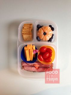 Quick and Easy lunch box idea!