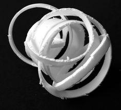 Student Artwork, Clara Lieu, Senior Portfolio Class, RISD Project Open Door, Styrofoam Cup Sculptures, 2017