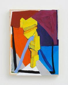 "Pam Lins, ""Vantongerloo Throw,"" 2012, acrylic on panel, 12 x 9 inches, 30.5 x 22.9 cm"
