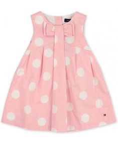Tommy Hilfiger Baby Girls Rosebank Polka Dot Dress