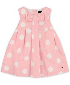 Tommy Hilfiger Baby Girls Rosebank Polka Dot Dress