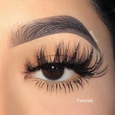 Fairytale Fairytale Faux Mink Lash Average Wear: Up to 25 times depending on care<br> Faux Mink Lash Average Wear: Up to 25 times depending on care Wispy Lashes, Fake Lashes, Mink Eyelashes, Makeup And Lashes, Makeup Wings, Best Lashes, Eyebrow Makeup, Lip Makeup, Elf Make Up