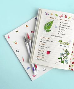 We're so inspired by @bluelahe's unique journal layouts, we asked her to show us how she creates them using our Sweet Feature Journal. Visit kikki-k.com/blog to see more and click the link in our bio to get yours. #bulletjournal #bujo