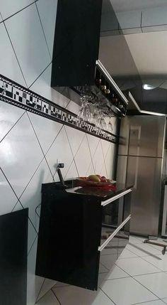 Projeto cozinha Alcideia da página Facebook.com/marcenariadegaragem2