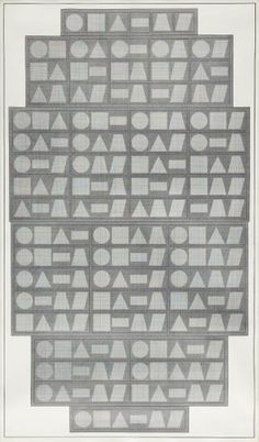 SOL LEWITT All One, Two, Three, Four, Five & Six Part Combinations of Six Geometric Figures, 1980