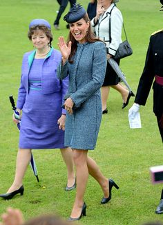 The Duchess of Cambridge, Kate Middleton, visits Vernon Park in Nottingham and view some sporting activities in the fields in Nottingham, UK, on the 13th June 2012.