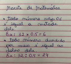 @Regran_ed from @sanycursos -  Macete de Matemática - . . . . #foconosestudos #papelariafofa #estudar #vestibular #estudaquepassa… Planning School, Mental Map, Study Cards, Study Organization, Study Planner, Lettering Tutorial, School Notes, Study Inspiration, Studyblr