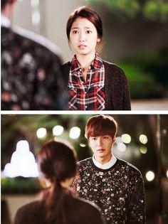 Shin Hye and Lee Min Ho ♡ #Kdrama // The #HEIRS Choi Jin Hyuk, Kang Min Hyuk, Korean Drama Movies, Korean Actors, Korean Dramas, Lee Min Ho Kdrama, Best Kdrama, Park Hyung, Kim Ji Won