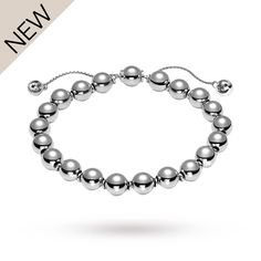 0dac45e23af6 For Her - Gucci San Valentino Silver Bracelet - YBA373678001016 Luxury  Fashion