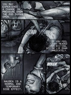 """A new chapter from one of our awesome comics """"Kansas"""" by M. K. Douma. You should definitely check out what happens with the weapon the community has chosen!  http://www.newgrounds.com/portal/view/634402"""