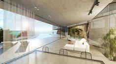 mold architects, Iliana Kerestetzi, Katerina Daskalaki, residence, chania, crete, house, home, atrium, infinity pool, island, vacation, greece, summer, aegean sea, greek architecture,