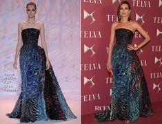 Nieves Alvarez In Zuhair Murad - 'Telva Beauty' 2014 Awards