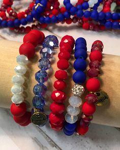 Game day Erimish bracelets