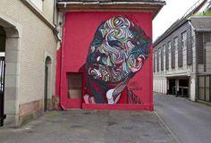 Artist : Shaka. Place : Mulhouse, France. Tags : street Art, graffiti, urban culture.