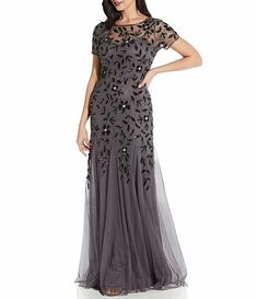 Mother Of The Bride Hair, Mother Of Groom Dresses, Sequin Dress With Sleeves, Dresses With Sleeves, Prom Dresses, Formal Dresses, Wedding Dresses, Bride Dresses, Mermaid Silhouette