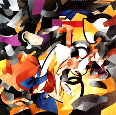 """Francis Picabia """"Edtaonisl""""(Clergyman), 1913  Oil on canvas  Art Institute of Chicago"""