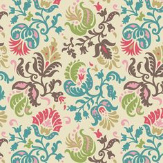 Feathered Damask (5) fabric by wrapartist on Spoonflower - custom fabric