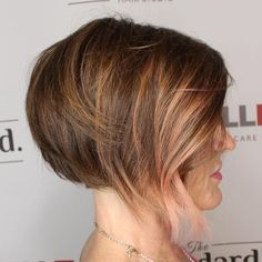 Honey+And+Pastel+Pink+Highlights+For+Brown+Hair
