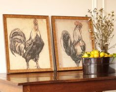 Amazing Rooster Prints