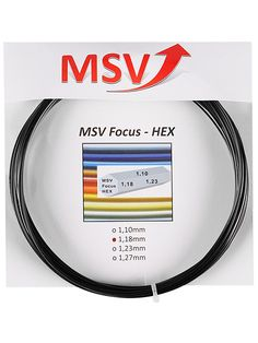 Get durability, control, and spin, all for a great price! Read the TW string review to see what else MSV Focus Hex has to offer!