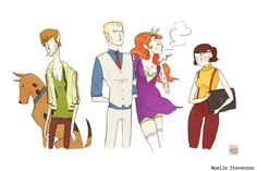 Scooby Doo gets a makeover.