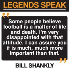 Bill Shankly #football quote #lfc