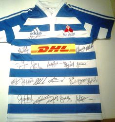 WP 2012 Currie Cup jersey (signed by the team) - also in the auction. Get your bids in if you can't be down on Saturday.