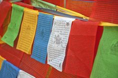 Feng Shui Use of Tibetan Prayer Flags in Your Home or Garden