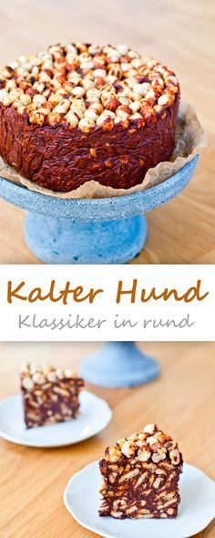 Kalter Hund in rund {no bake cake sunday}