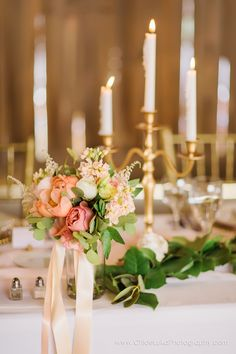 Rustic meets glam with this beautiful blush and gold, french themed barn wedding.  Images from Chloe Luka Photography  |  Flowers by Sherwood Florist  |  Decor rental by Prime Time Party Rental