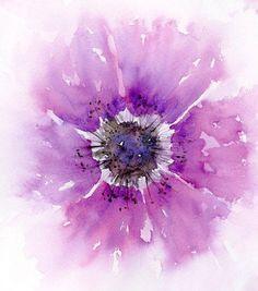 Cette copie d'art mural fleur aquarelle abstraite ferait un merveilleux cadeau pour elle ! En gras rose et violet, cette impression de fleurs va certainement faire une déclaration dans n'importe quelle pièce. Paire avec mon autre fleur anémone imprime pour créer une galerie d'art mur de