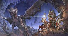 Fantasy Flight Games — Runebound Dungeon by Jesper Ejsing