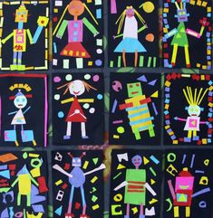 Funktioniert kreativ Source by The post Funktioniert kreativ appeared first on Art. Kindergarten Self Portraits, Kindergarten Art Lessons, Art Lessons Elementary, Painting For Kids, Art For Kids, Kindergarden Art, Clown Crafts, Shape Art, Preschool Art