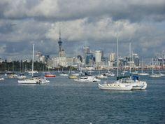 The amazing Okahu Bay in Auckland Kiwiana, Auckland, More Photos, New Zealand, New York Skyline, Sailing, Memories, World, City