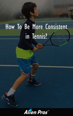 Consistency and Tennis? Topic of today's blog article! #alienpros #Tennis #Tennisball #Tennislife alien-pros.com