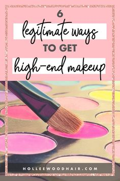 Do you want to know how to get free makeup? Yesterday, I got a free $100 Sephora Gift card with the first method on this list. I was able to buy full-sized makeup (not samples, no surveys) without spending a dime.  Let me show you the 6 easiest ways to get free high-end makeup!  #freemakeup #makeuptips #makeup #highendmakeup #luxurymakeup