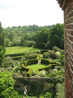 Sissinghurst gardens...