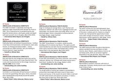 Some amazing accolades for some amazing wines - Well done Casanova de Neri!