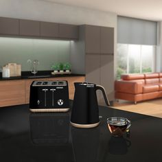 Go fully Scandi-chic with the new collection of kettles and toasters from Morphy Richards. The Aspect collection now features a wooden trim for a true Nordic look & feel. Kettle And Toaster Set, Small Appliances, Kitchen Appliances, Kitchens, Wooden Trim, Scandi Chic, Cord Storage, Piece Of Bread, Cuisine