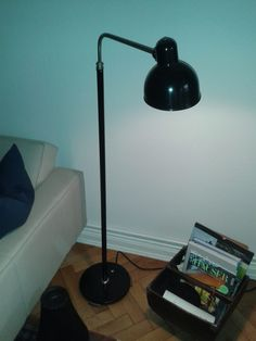 Based on the Kaiser Idell model 6607 executed as a floor lamp. Very rare model without catalog information. after 1930 Bauhaus, Desk Lamp, Table Lamp, Task Lighting, Kaiser, Floor Lamp, Light Fixtures, Modern, Catalog