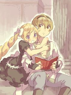 Fire Emblem Fates - little Leo and Elise