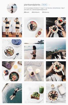 Pin for Later: 33 Healthy, Inspiring Women You Should Be Following on Instagram @plantsandplanks