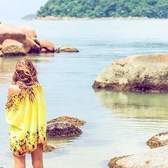 Prometo que é a última gente mas ainda estou aqui encantada com a beleza da Baia dos Golfinhos!  descabelada Ehehehe mas bem feliz!