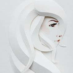 Paper sculptures, hair art, and tattoos? Belinda Rodriguez pulls out her skills as a freelance designer. 3d Paper Art, Paper Artwork, Paper Artist, Paper Crafts, Origami And Kirigami, Origami Paper, Paper Quilling, Paper Cutting, Architecture Origami