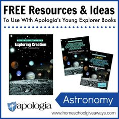 FREE Resources & Ideas to Use With Apologia's Young Explorer Books: Astronomy!